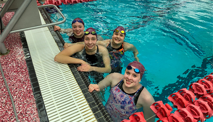 Trident Swimmers Compete at State Swim Meet