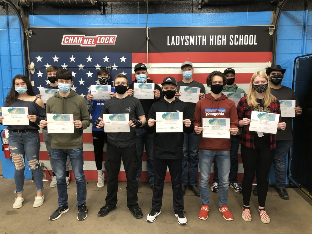 Students earn CAD Certificates