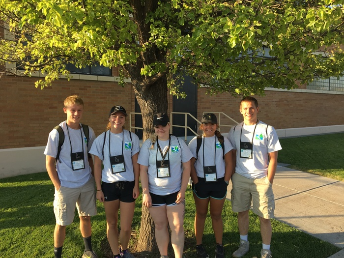 Envirothon National Team from Ladysmith
